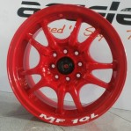 Velg Mobil Ring 15 mf10L pcd 4×100-114 lebar 6,5 et 38 Red