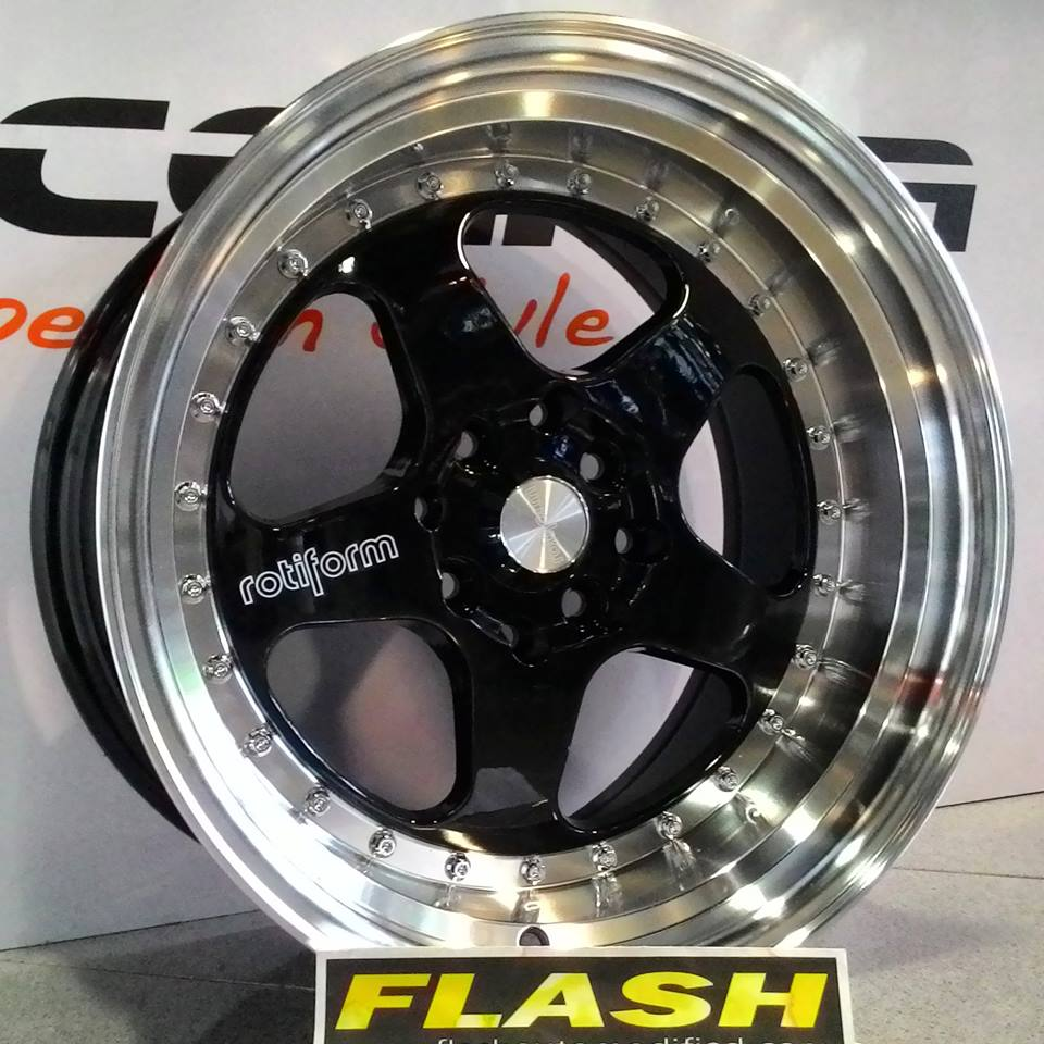 rotiform ring 16 black