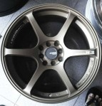Velg Mobil Advan RG3 Ring 17 Gunmet