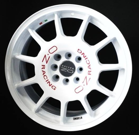Jual Velg oz legenda ring 17 lebar 7,5 pcd 8x100.114 et +42
