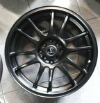 Velg Mobil SSR Type GTC Ring 17 Black