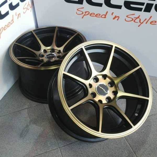 VELG XXR ring 15 lebar 7-8.5 pcd 8x100.114 et +30-25 BROWN