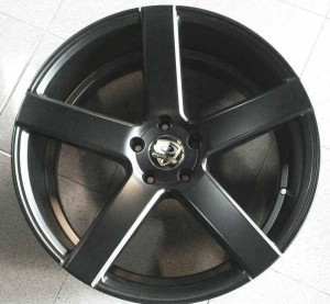 Velg Privelege Ring 20, pcd 5×114, lebar 8,5-9.5, et 45 Black