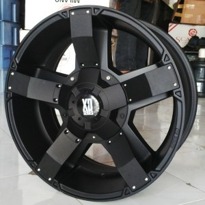 Velg Mobil Ring 20 xd Rock Star pcd 6×139 lebar 9.5 et 15 Black