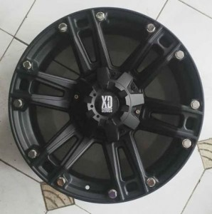 Velg xd Series Rock Star ring 20, pcd 6×139, lebar 9, et 15 Black 1st
