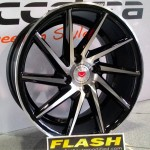 vossen cvt ring 16 black polis